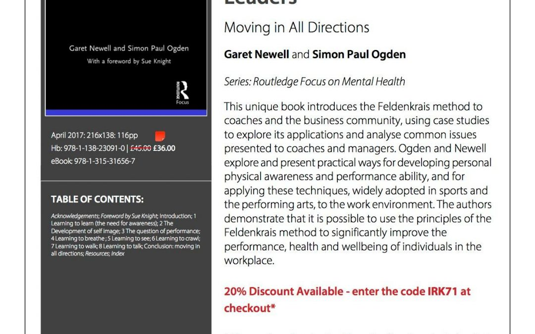 New Publication by Garet Newell and Simon Paul Ogden
